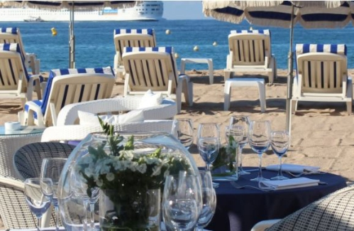 Tips - have breakfast on the beach at MIPIM